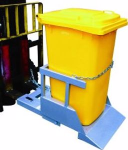 Picture of Forklift Mounted Wheelie Bin Tipper for 1 Wheelie Bin