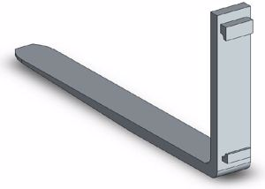 Picture of Fork Tine Class 3 1070mm 4500kg SWL
