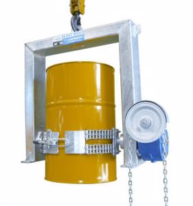Picture of Crane Drum Handling Drum Lifter 1000Kg SWL with Chain Rotation