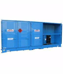 Picture of Relocatable Dangerous Goods Storage 8200 Litre