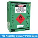 Picture of Gas Cylinder Storage cage for 2 x Type T Forklift Cylinders Melbourne