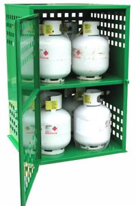 Picture of 8 x 9kg LPG Storage Cage