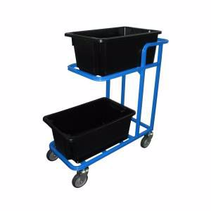 Picture of 2 Tier Tub Trolley 420mm x 950mm