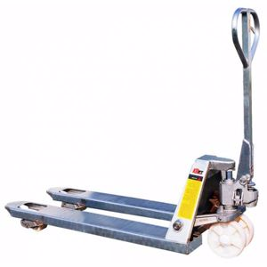 Picture of Galvanised Pallet Jacks Truck 685mm width Melbourne