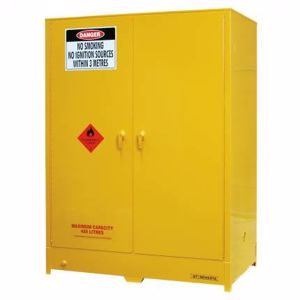 Picture of Flammable Storage Cabinet 450L with 4 Removable Shelves