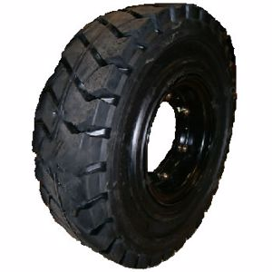 Picture of Forklift Rim and Solid Tyre 600 x 9