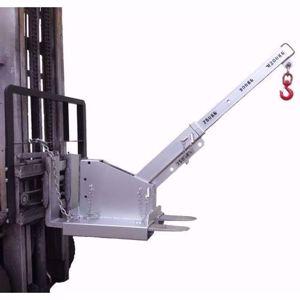 Picture of Tilt Forklift Jib Attachment 2.5 Tonne Long