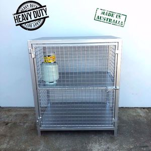 Picture of 12 x 9kg Gas Cylinder Cage Stock Melbourne