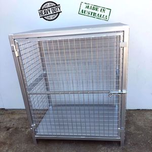 Picture of 6 x 15kg Forklift Gas Cylinder Cage Stock Melbourne